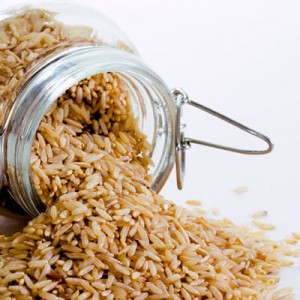 Brown rice is a good source of biotin